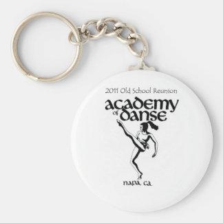 ダンスの懇親会2011年の古い学校アカデミー キーホルダー