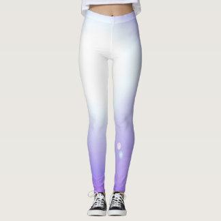 ダンスの紫色のレギンスのファッションのトレーニングのスポーツ レギンス