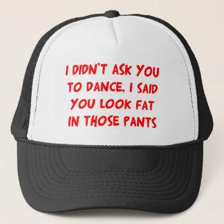 ダンスの脂肪ズボン キャップ