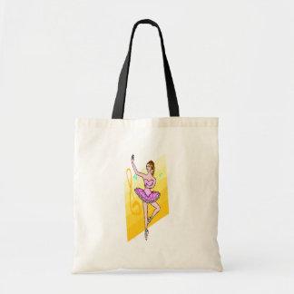 ダンスの衣服のトートバック トートバッグ