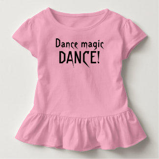 ダンスの魔法のダンスの迷路のTシャツ トドラーTシャツ