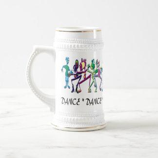 ダンスの~ステイン ビールジョッキ