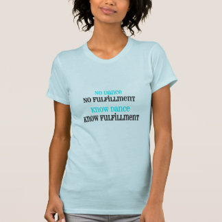 ダンスのTシャツ Tシャツ