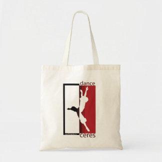ダンスはしぶきのバッグを蝋布で包みます トートバッグ