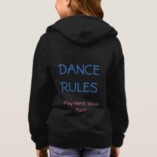 ダンスはフード付きスウェットシャツを支配します スウェットシャツ
