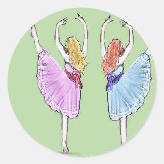 ダンスは動きの詩歌です ラウンドシール
