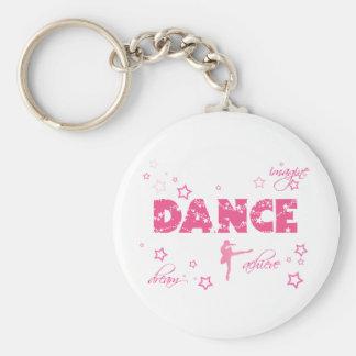 ダンスは達成します夢を想像します キーホルダー
