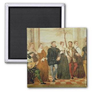 ダンスへの招待状、1570年 マグネット