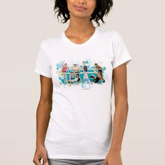 ダンスアカデミーの鋳造物のグラフィック Tシャツ