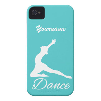 ダンスカスタムなモノグラム及び色のケース Case-Mate iPhone 4 ケース
