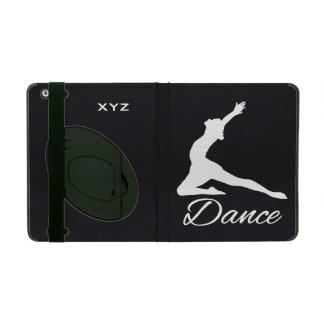 ダンスカスタムなモノグラム及び色のケース iPad ケース