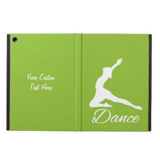 ダンスカスタムなモノグラム及び色のケース iPad AIRケース