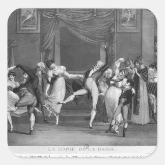 ダンスマニア1809年 スクエアシール