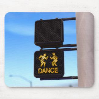 """""""ダンス歩きません… """"は マウスパッド"""