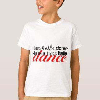 ダンス翻訳 Tシャツ
