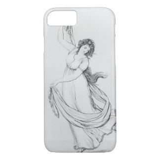 ダンス、「ハミルトン女性からのプレートVIのムーサ iPhone 8/7ケース