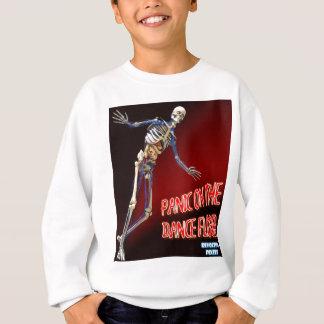 ダンス・フロアのパニック スウェットシャツ