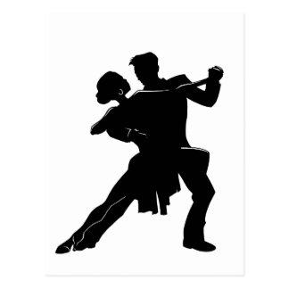 ダンス ポストカード