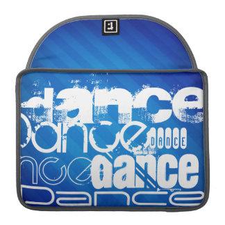 ダンス; ロイヤルブルーのストライプ MacBook PROスリーブ