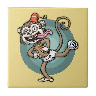 ダンス、猿! タイル