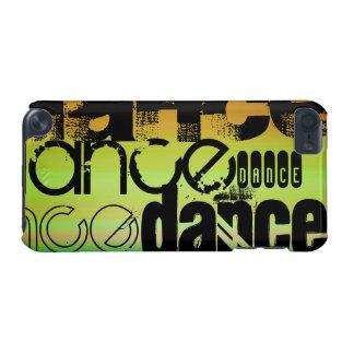 ダンス; 鮮やかな緑、オレンジ、及び黄色 iPod TOUCH 5G ケース