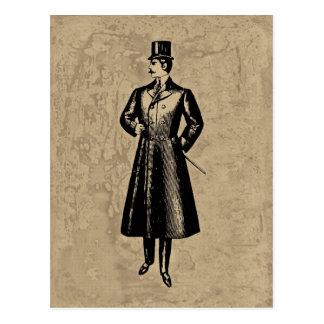 ダンディな紳士 ポストカード