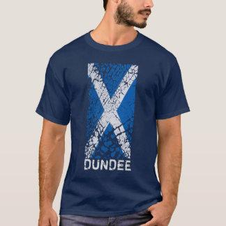 ダンディー + 動揺してなスコットランドの旗 Tシャツ