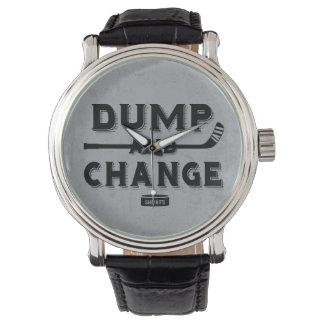 ダンプおよび変更のホッケー 腕時計