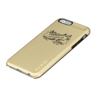 ダンプの切札のかわいらしい花の電話箱 INCIPIO FEATHER SHINE iPhone 6ケース