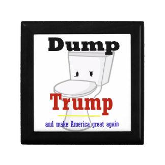 ダンプの切札のアメリカの選挙のギア ギフトボックス