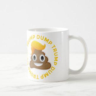 ダンプの切札の#DumpTrumpのアンチ切札ドナルドPooドナル コーヒーマグカップ