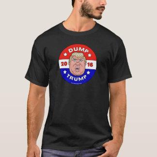ダンプの切札、ドナルド・トランプの反ワイシャツ Tシャツ