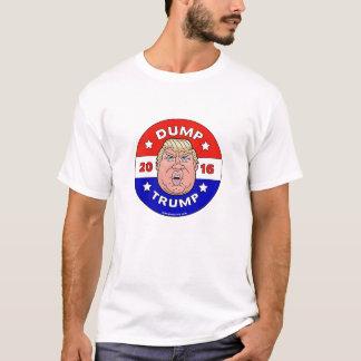 ダンプの切札、ドナルド・トランプの反Tシャツ Tシャツ