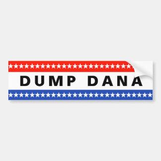 ダンプのDanaのステッカー バンパーステッカー