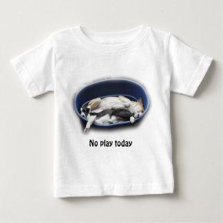 ダンプカー及びDixie -ボーダーコリー ベビーTシャツ
