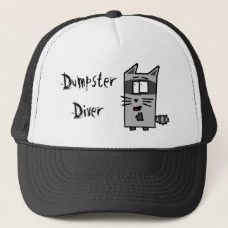 ダンプスターのダイバーのアライグマの帽子 キャップ