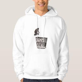 ダンプスターのダイバー…音楽的なフード付きスウェットシャツ パーカ