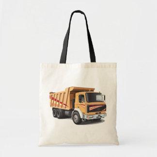 ダンプトラックのトートバック トートバッグ