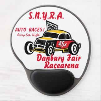 ダンベリー公平なS.N.Y.R.A Racearenaのマウスパッドのロゴ ジェルマウスパッド