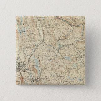 ダンベリー24枚のシート 5.1CM 正方形バッジ