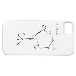 ダーウィンのバクテリオファージ iPhone SE/5/5s ケース