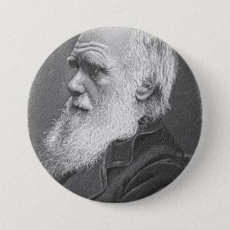 ダーウィンのポートレート 缶バッジ