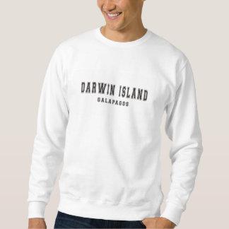 ダーウィンの島ガラパゴス スウェットシャツ