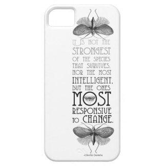 ダーウィンの引用文iphone5の場合 iPhone SE/5/5s ケース