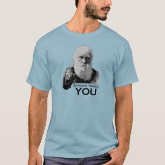ダーウィンは必要とします! Tシャツ