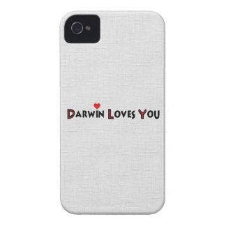 ダーウィンは愛します Case-Mate iPhone 4 ケース