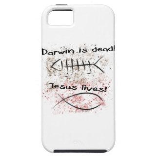 ダーウィンは死んでいます-イエス・キリストの生命 iPhone SE/5/5s ケース