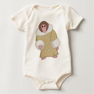 ダーウィンIkea猿 ベビーボディスーツ