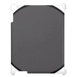 ダークグレーの点 iPadケース