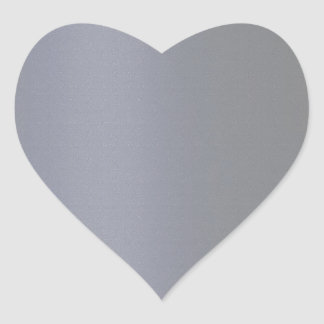 ダークグレー明白なブルーグレー ハートシール